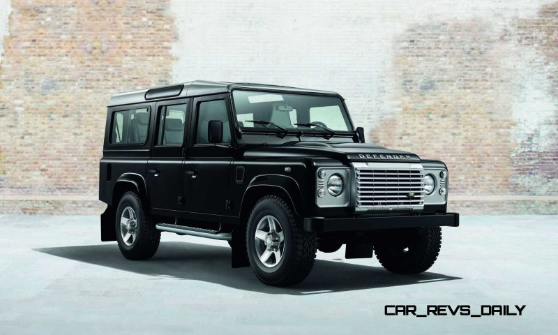 Land Rover Honors 2015 Defender Retirement with Trio of Special Editions 1