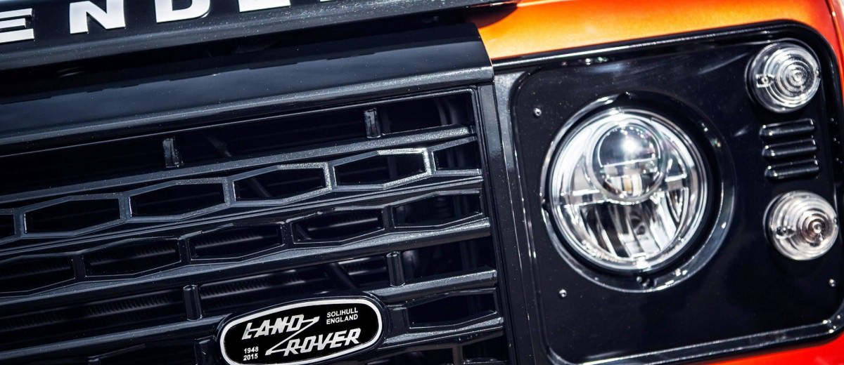 Land Rover Honors 2015 Defender Retirement with Trio of Special Editions 10