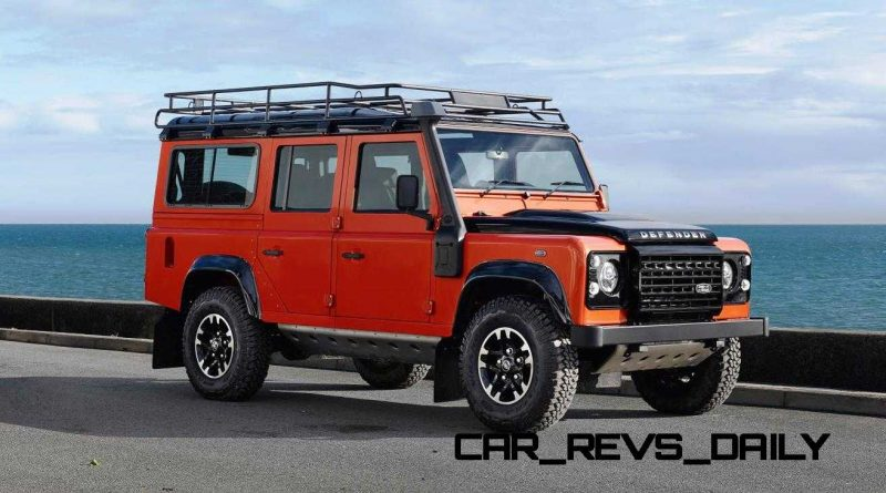 Land Rover Honors 2015 Defender Retirement with Trio of Special Editions 13