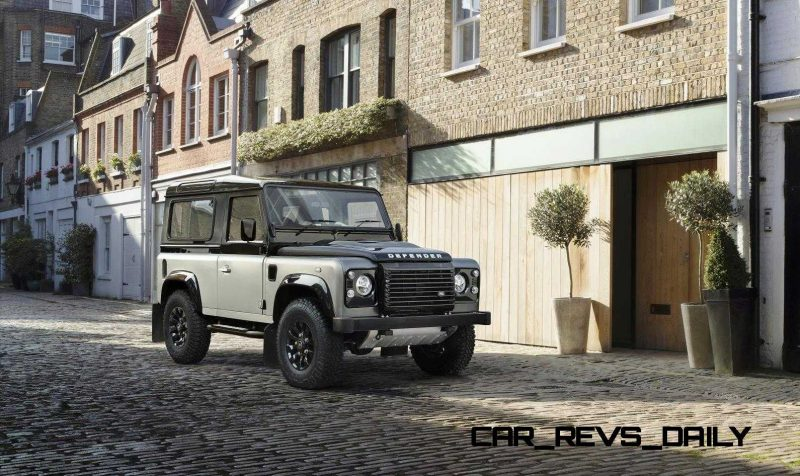 Land Rover Honors 2015 Defender Retirement with Trio of Special Editions 18