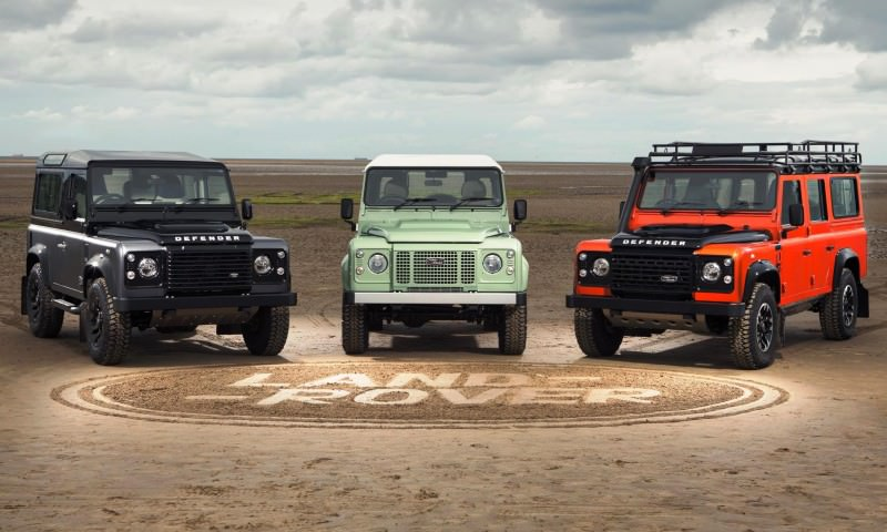 Land Rover Honors 2015 Defender Retirement with Trio of Special Editions 26