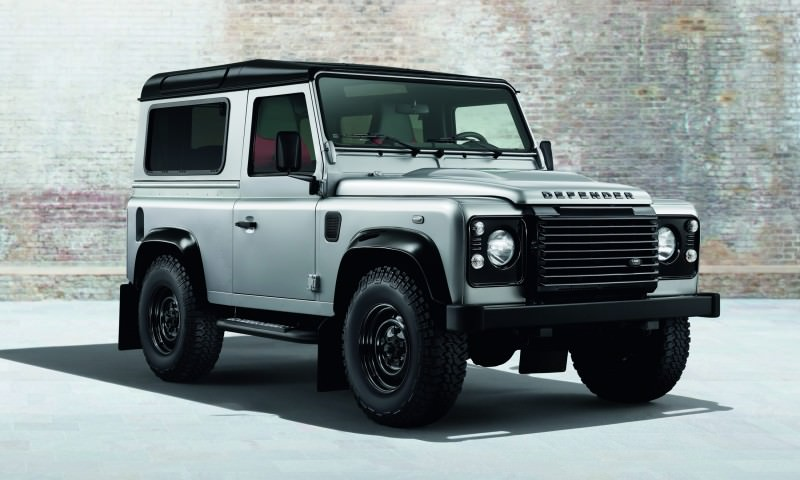 Land Rover Honors 2015 Defender Retirement with Trio of Special Editions 6