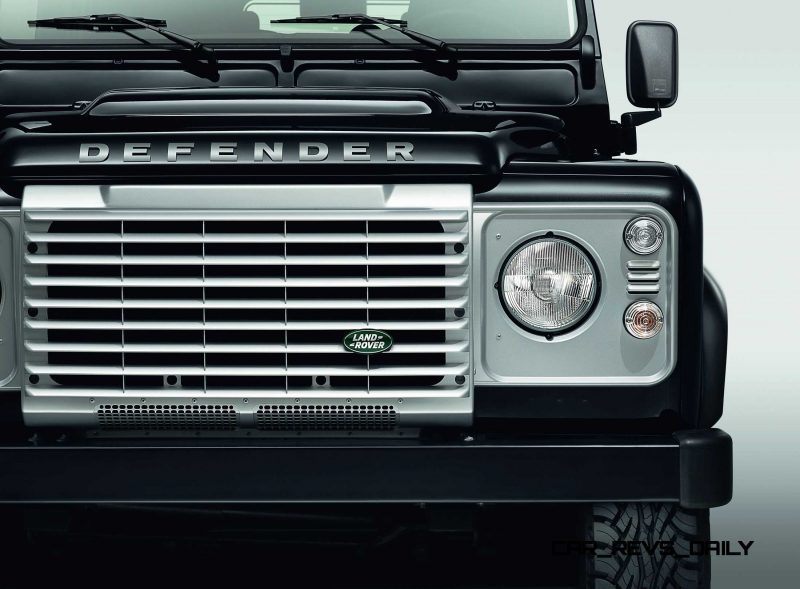 Land Rover Honors 2015 Defender Retirement with Trio of Special Editions 9