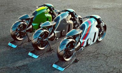 Lotus C-01 Motorcycle 26