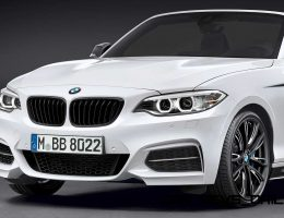 New M Performance Parts Add Power, Stance and Style to BMW 2 Series Convertible