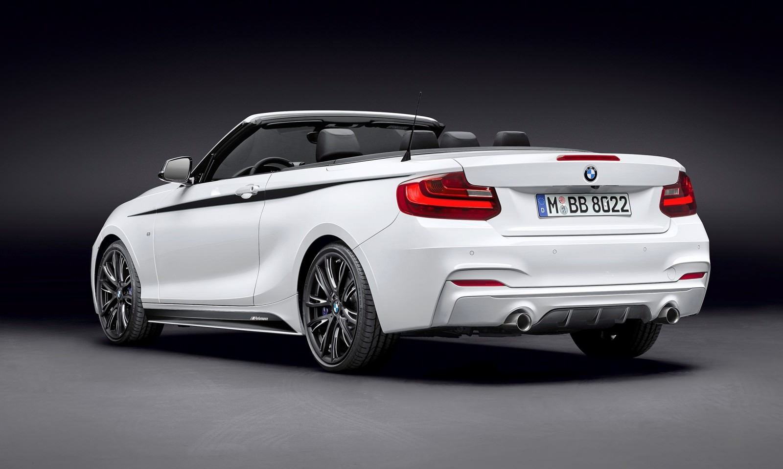 BMW 2 Series Convertible M Performance Parts