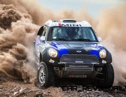 MINI Countryman Team Looks Set for Dakar Four-Peat