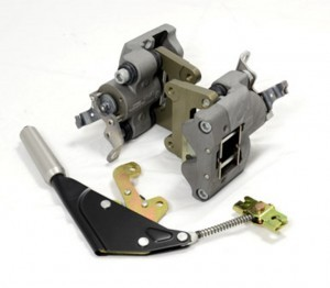 Mechanical Handbrake System for Rear Alcon 4 Pot Brakes_001