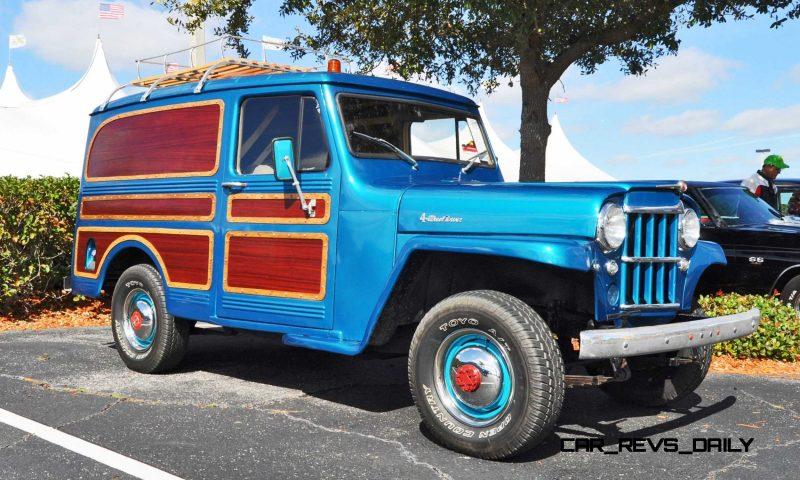 Mecum 2015 Florida Faves - 1962 Willys JEEP Utility Wagon 11