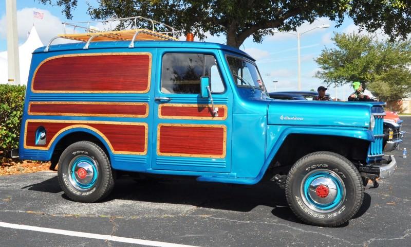 Mecum 2015 Florida Faves - 1962 Willys JEEP Utility Wagon 15