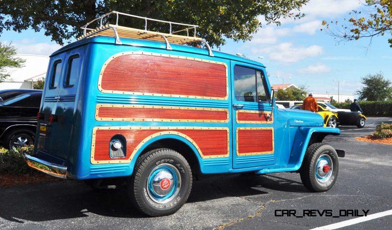 Mecum 2015 Florida Faves - 1962 Willys JEEP Utility Wagon 17