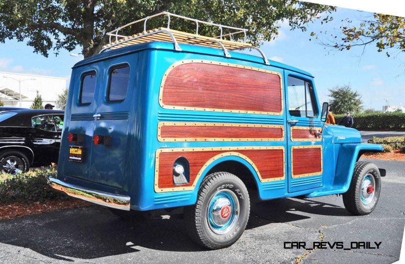 Mecum 2015 Florida Faves - 1962 Willys JEEP Utility Wagon 20