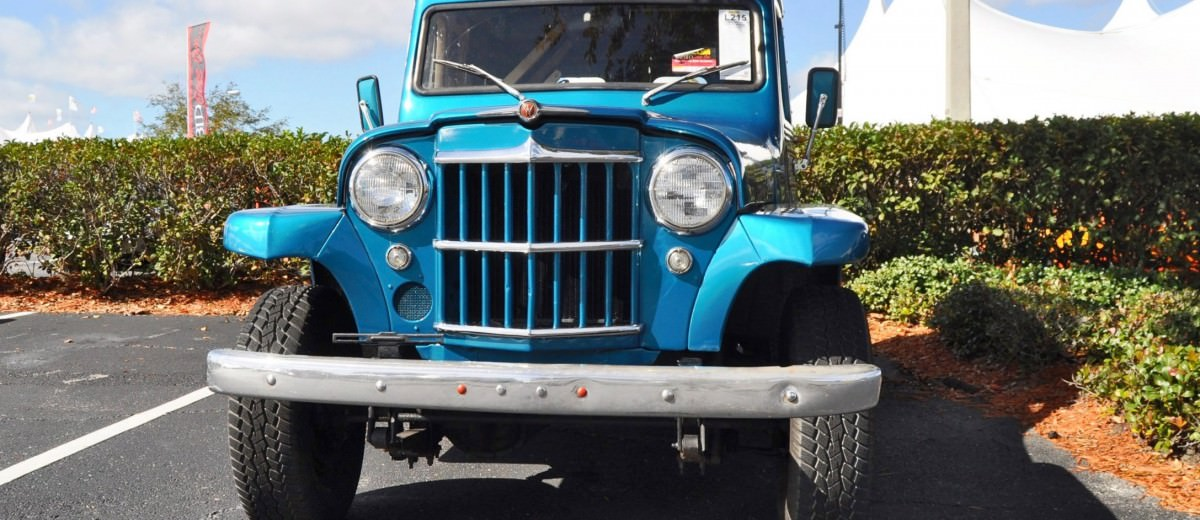 Mecum 2015 Florida Faves - 1962 Willys JEEP Utility Wagon 5