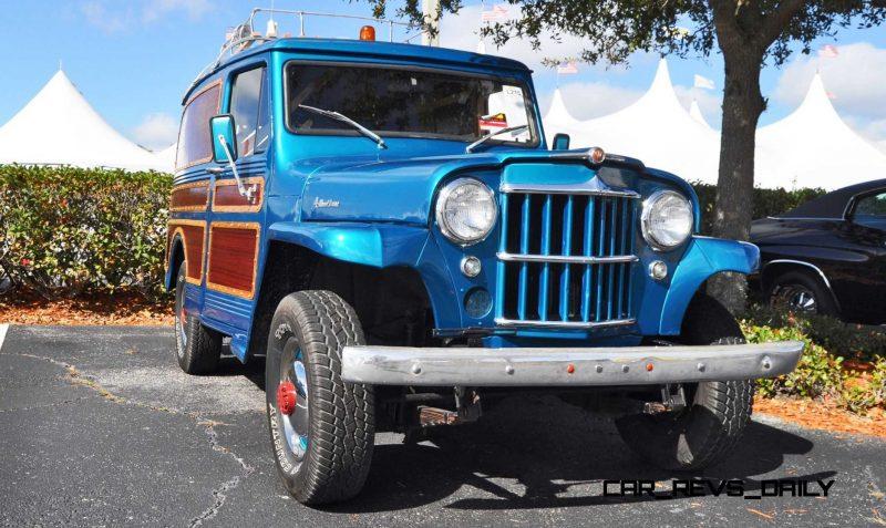 Mecum 2015 Florida Faves - 1962 Willys JEEP Utility Wagon 8
