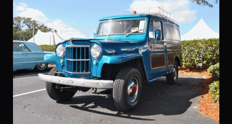 Mecum 2015 Florida Faves - 1962 Willys JEEP Utility Wagon
