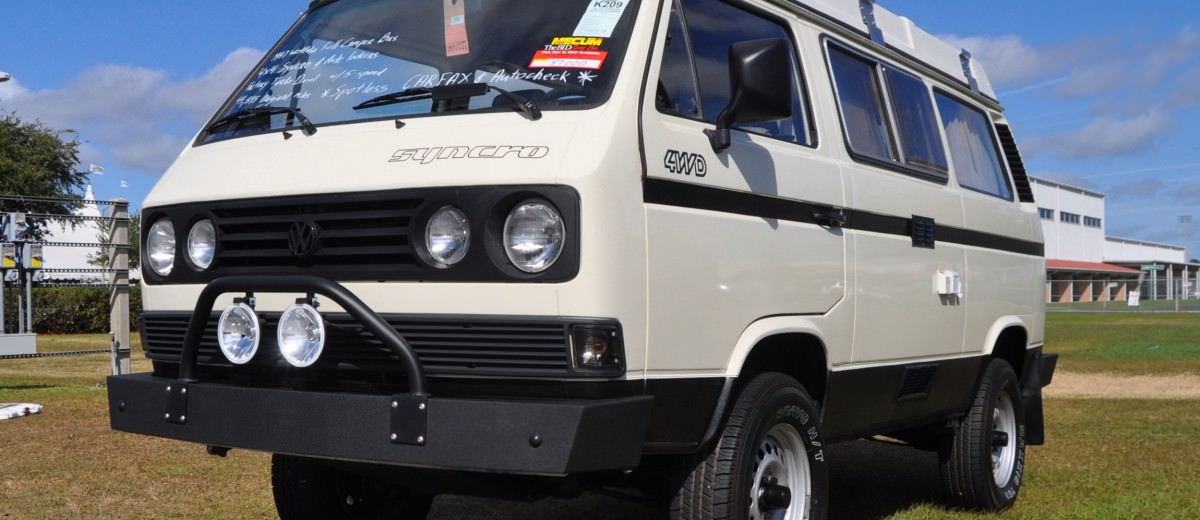 Mecum Florida 2015 Favorites - 1987 Volkswagen SYNCHRO 4x4 TurboDiesel Westfalia 11