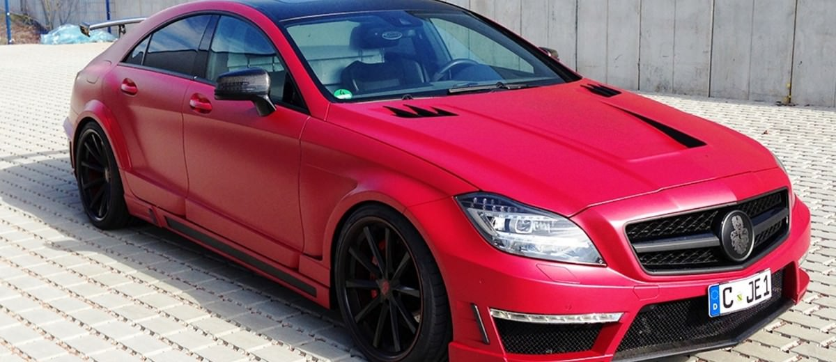 Mercedes-Benz CLS by German Special Customs 22