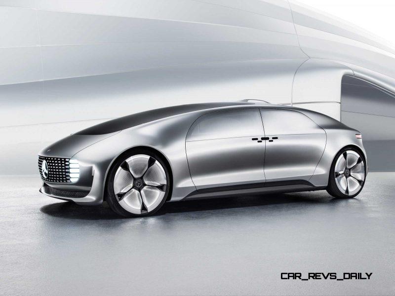 Mercedes-Benz F 015 Concept 12