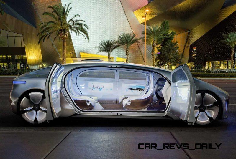 Mercedes-Benz F 015 Concept 16