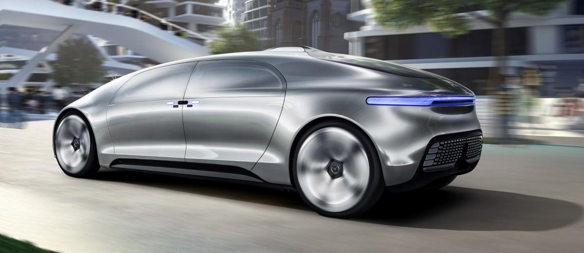 Mercedes-Benz F 015 Concept 6