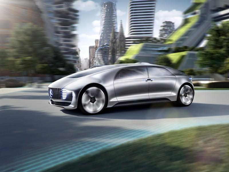 Mercedes-Benz F 015 Concept 7