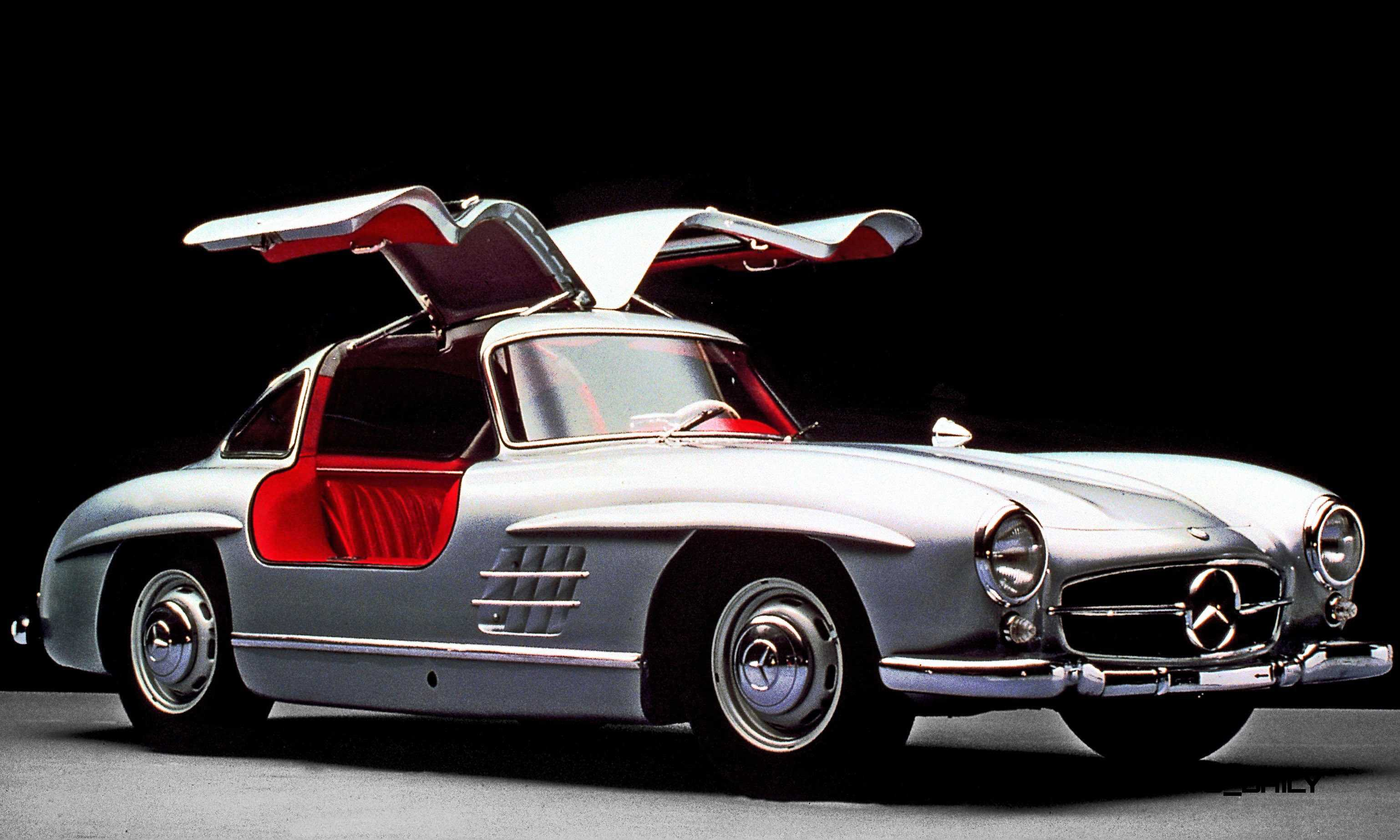 Mercedes benz gullwing supercar evolution for New mercedes benz supercar