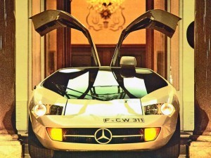 Mercedes-Benz Gullwing Supercar Evolution 64 copy