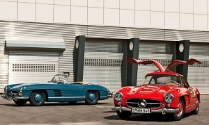 Mercedes-Benz Gullwing Supercar Evolution 70 copy