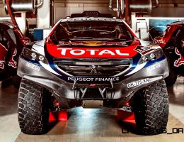 2015 Peugeot 2008 DKR Rally Racer – Tech Specs and Pre-Dakar Photos