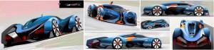 Renault ALPINE Vision Gran Turismo 2