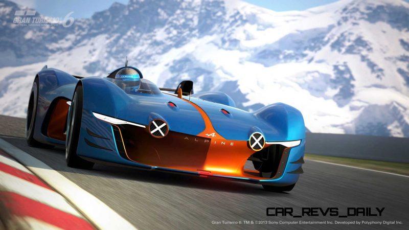 Renault ALPINE Vision Gran Turismo 40
