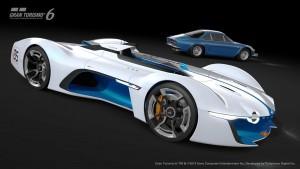 Renault ALPINE Vision Gran Turismo 44