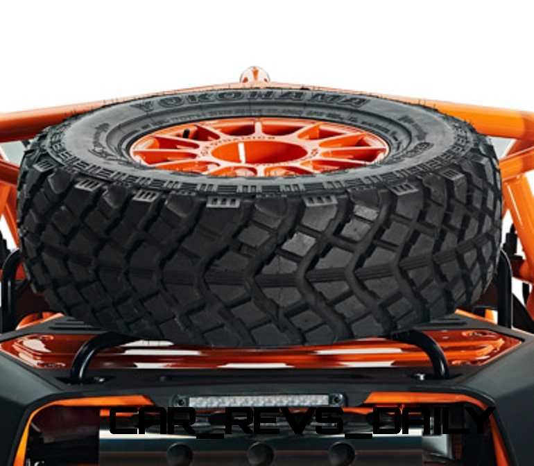 Spare Wheel and Tyre including Carrier_003