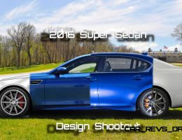 Super Sedan Design Shootout – 2016 Lexus GS-F vs. 2016 Cadillac CTS-V vs. E63 AMG vs. M5