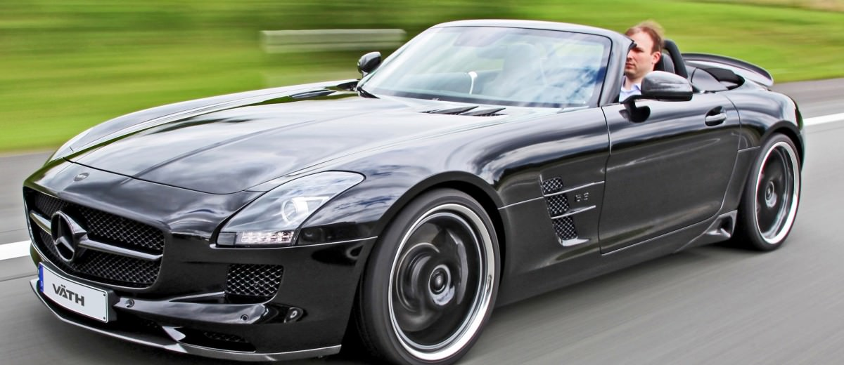 VATH Blacks-Out SLS AMG Roadster 1