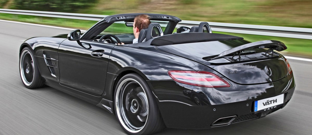 VATH Blacks-Out SLS AMG Roadster 2