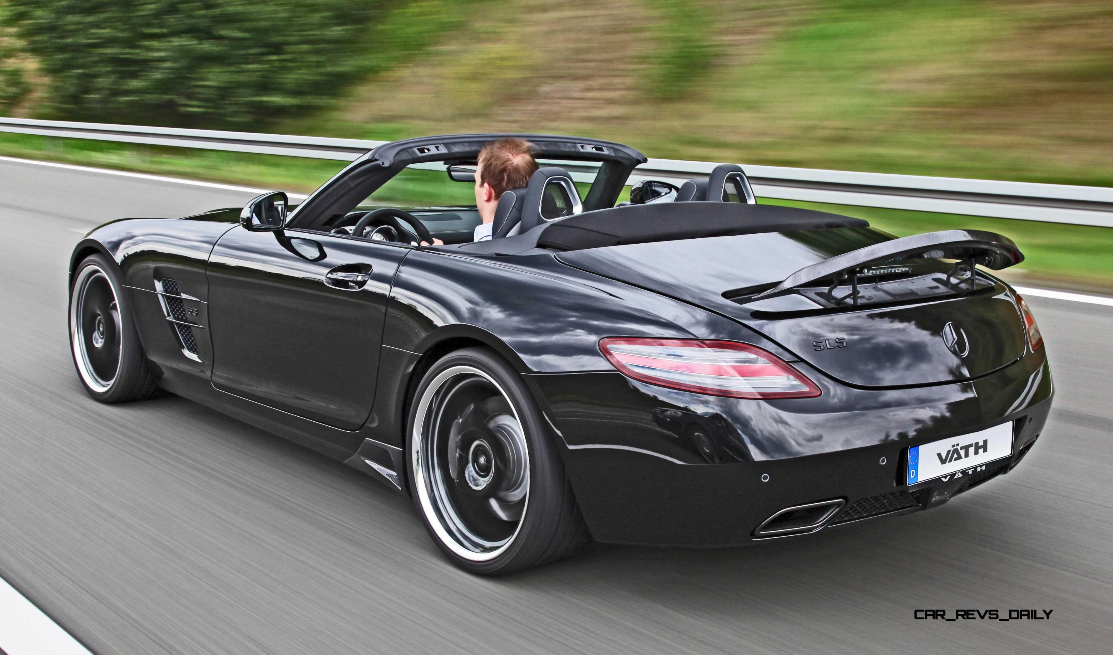 Sls amg black series roadster