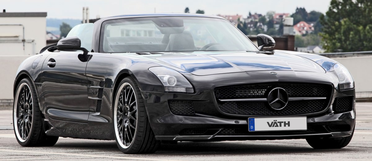 VATH Blacks-Out SLS AMG Roadster 4