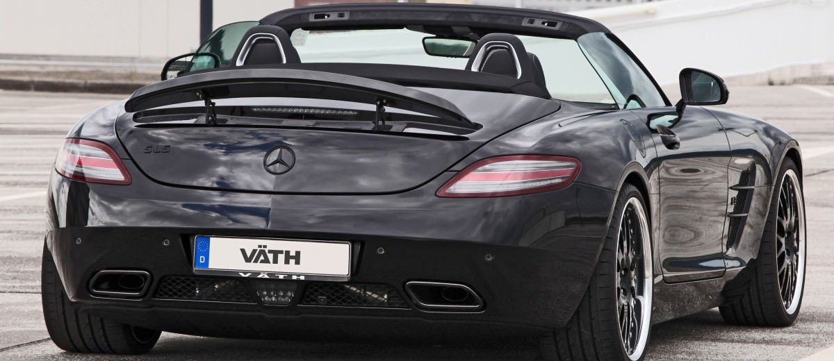 VATH Blacks-Out SLS AMG Roadster 6