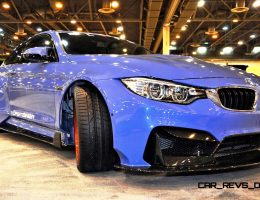 Best of Houston Auto Show – Vorsteiner 2015 BMW M4 GTRS4 by ELITE Customs TX