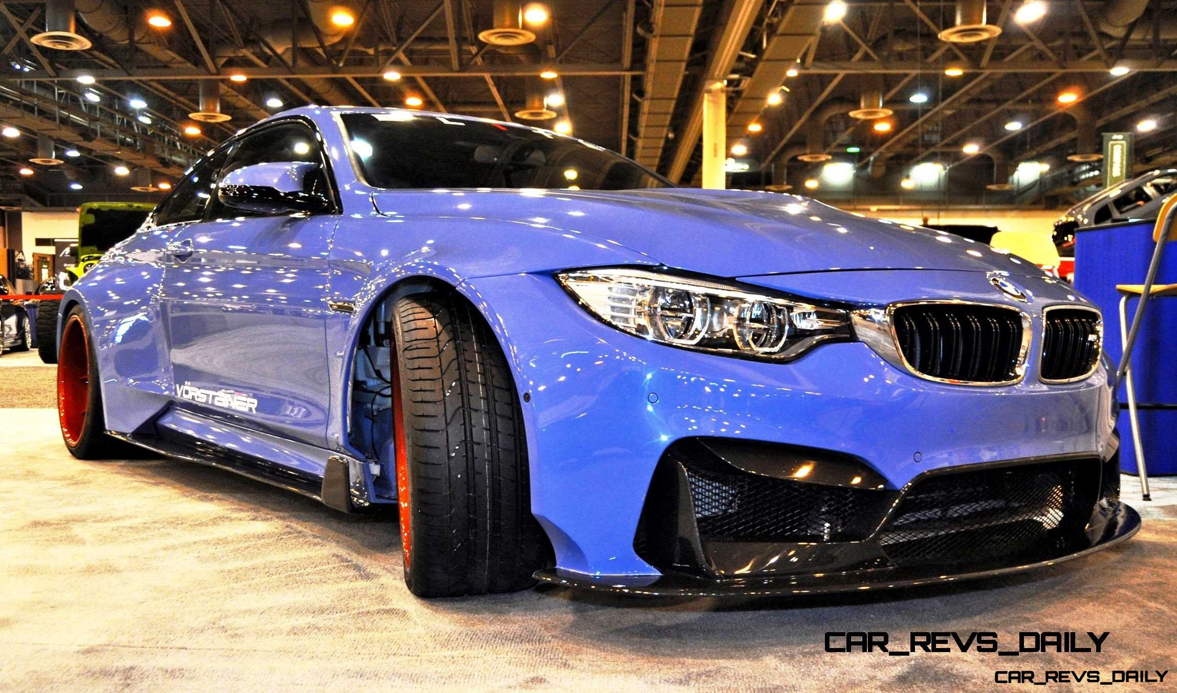 Best of Houston Auto Show – Vorsteiner 2015 BMW M4 GTRS4 by ELITE Customs TX