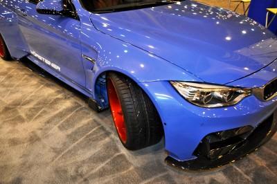 Vorsteiner 2015 BMW M4 GTRS4 by ELITE Customs TX 25