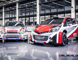 300HP 2017 Toyota Yaris WRC Marks Return to Top-Flight Rally Racing