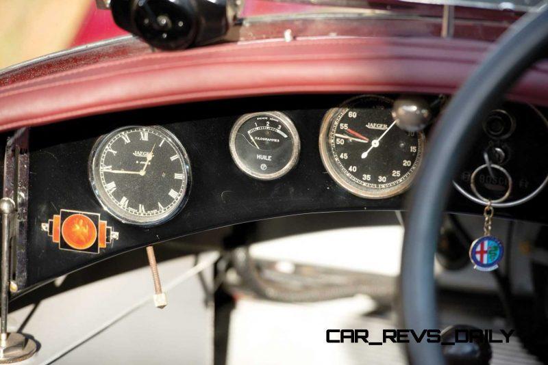 1931 Alfa Romeo 6C 1750 Gran Sport Spider by Zagato 17