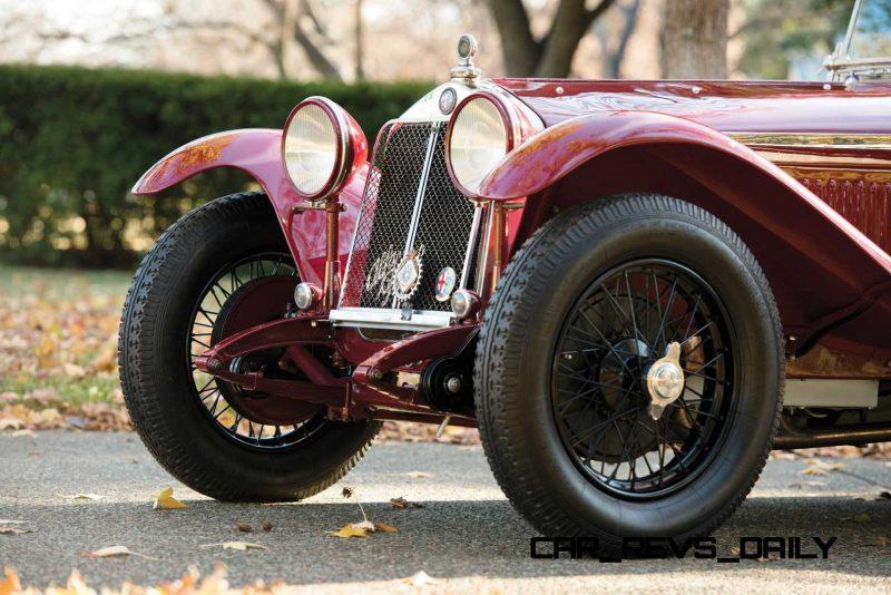 1931 Alfa Romeo 6C 1750 Gran Sport Spider by Zagato 18