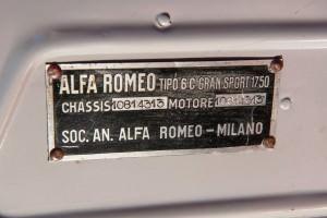 1931 Alfa Romeo 6C 1750 Gran Sport Spider by Zagato 22
