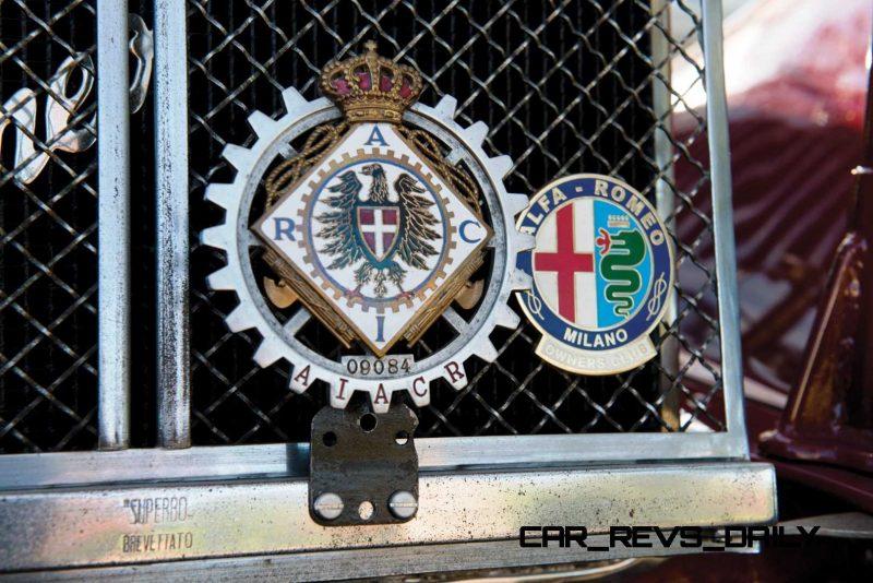 1931 Alfa Romeo 6C 1750 Gran Sport Spider by Zagato 31