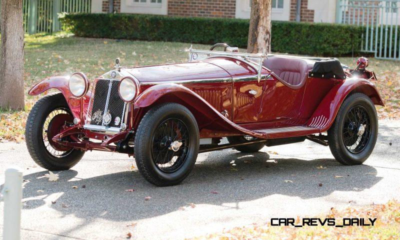1931 Alfa Romeo 6C 1750 Gran Sport Spider by Zagato 39