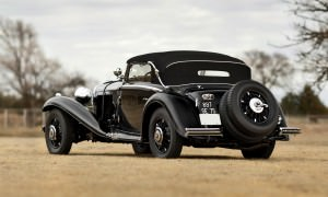 1935 Mercedes-Benz 500-540K Cabriolet A by Sindelfingen 1