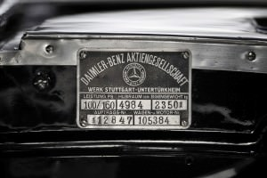 1935 Mercedes-Benz 500-540K Cabriolet A by Sindelfingen 13